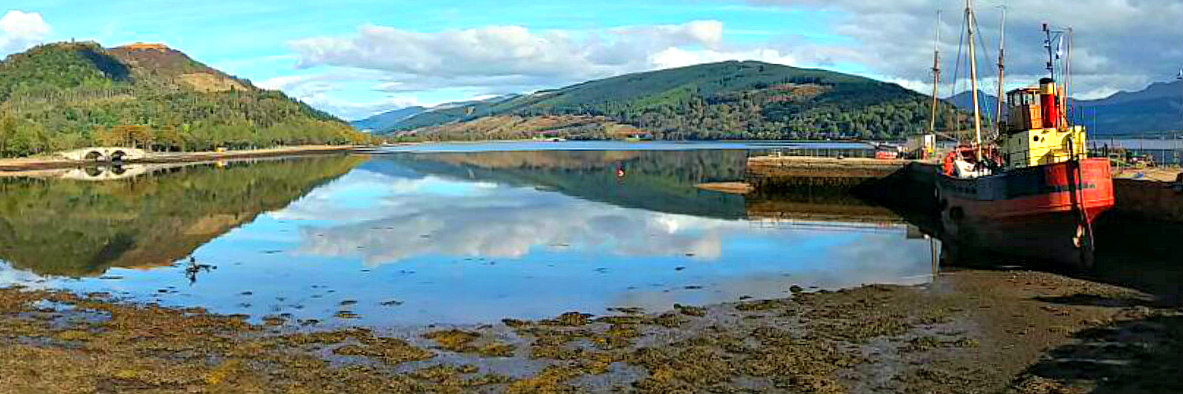 Inverary harbour